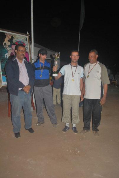 نهاية بطولة الكرة الحديدية المنظمة من طرف جمعية أمل بوقنادل